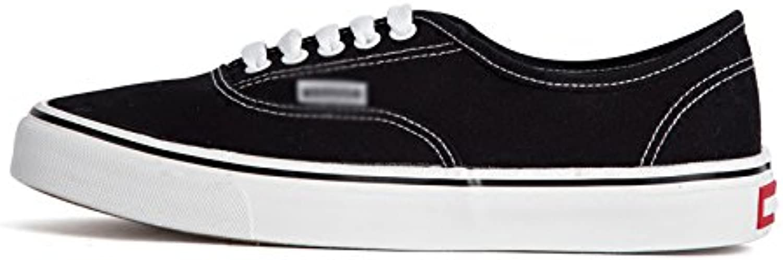 XFF Zapatos de Lona Zapatos de Hombre Primavera Baja para Ayudar a Zapatos Casuales Zapatos Individuales Zapatos... -