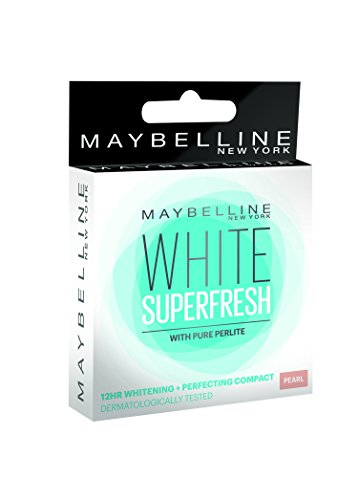 Maybelline New York White Super Fresh Compact Pearl, 8g