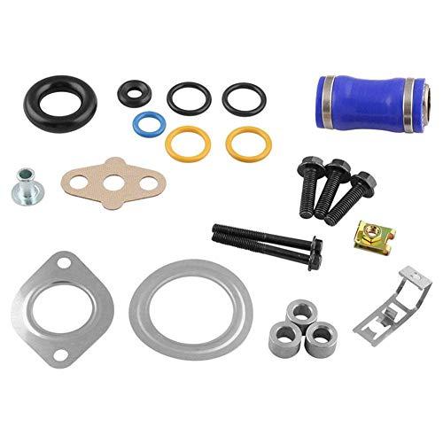 IrahdBowen Dichtungssatz für Ventilkühler Kfz-Änderungen AGR-Ventilkühler-Dichtungssatz für Ford 6.0L V8 Diesel Turboventil-Kühlerdichtungssatz