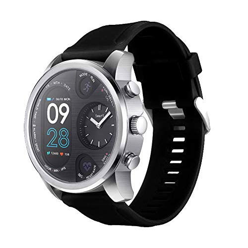 Bluetooth Smartwatch Fitness Uhr Intelligente Armbanduhr Fitness Tracker Smart Watch Sport Uhr mit Wasserdichtes Herzfrequenz-Blutdruckmessgerät für Android und IOS Smartphones Damen Herren