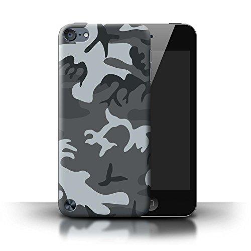 Stuff4® Hülle/Case für Apple iPod Touch 5 / Winternachtssoldat Muster/Militär Camouflage Tarnung Kollektion