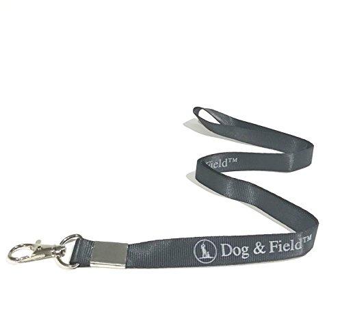 Hund & fieldtm Lanyard–Whistle Lanyard oder Badge, Telefon, Schlüssel Halter Riemen mit starken Metall Clip