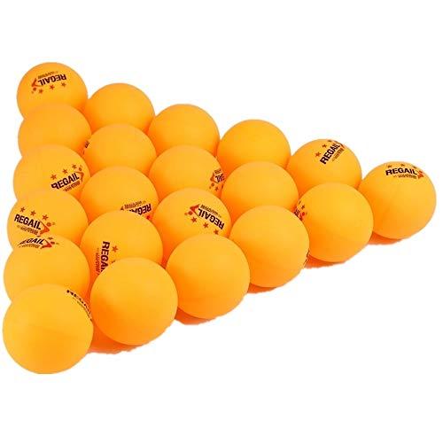 Wingeri Neue Tischtennisprodukte 60 Punkte 3-Sterne-Tischtennis-Tischtennisball für Fortgeschrittene Geeignet für sportliches Lernen