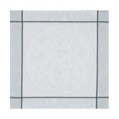 Le Jacquard Français Serviette de Table Coton Peigné, Flocon, 58x58x0,1 cm