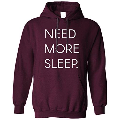 Benötigen Sie mehr Schlaf Müde Sleepy Gähnen Naps lustiger Slogan Asleep Kapuzenpullover