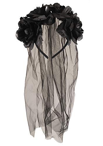 (Unbekannt Damen Schleier für Halloween Party Verrücktes Kleid Kostümzubehör)