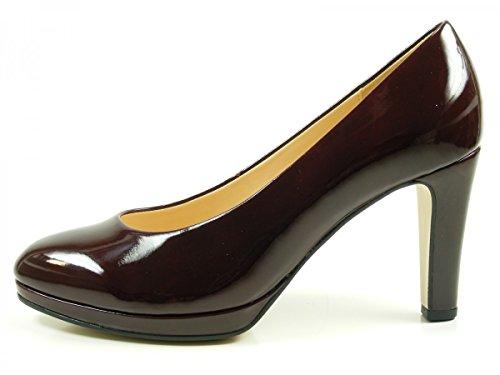 Gabor Damen Fashion Pumps Rot (71 Merlot)
