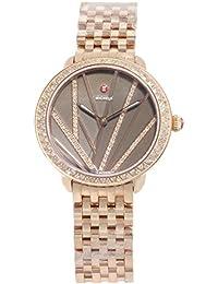 Michele Serein Mid City Lights MWW21B000113 Pink Tone Steel Quartz Ladies Watch