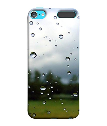 PrintVisa Designer Back Case Cover for Apple iPod Touch 6 :: Apple iPod 6 (6th Generation) (Rain Bubble Abstract Transparent Cool Backcase)