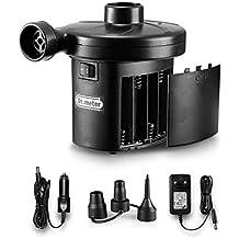 Dr.meter Inflador Electrico, Bomba de inflado eléctrica con batería Inflado/Desinflado.