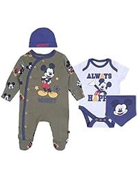 0325f8f3c5 Conjunto para bebé Azul Marino-Khaki Mickey Disney