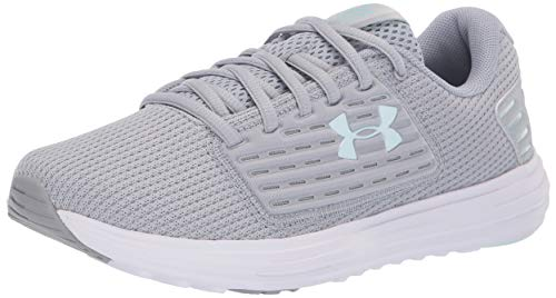Under Armour Surge Se, Scarpe Running Donna, Grigio (MOD Gray/White/Fuse Teal 104), 38.5 EU