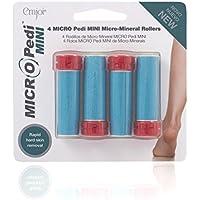 Emjoi Micro-Pedi Mini Ersatzrollen, Mikro-Mineralien, extra-grob, Blau, 4er-Set preisvergleich bei billige-tabletten.eu