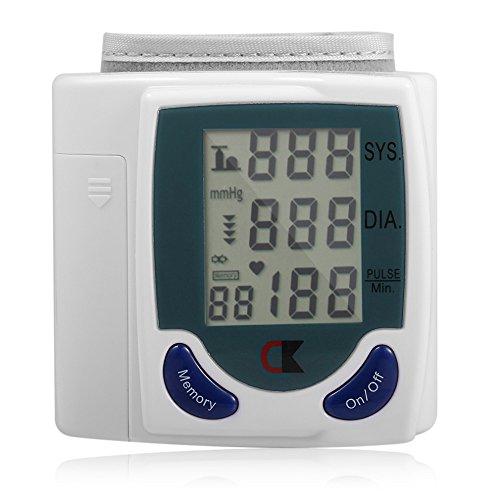 Health Care Die automatische Digital-LCD-Handgelenk-Blutdruckmessgerät zur Messung der Herzschlag und Herzfrequenzmesser Dia SYS