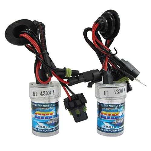 Paire / 2pcs 55W H1 ampoule de remplacement caché ampoule unique pour moto toute couleur