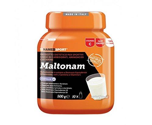 Maltonam - Named - Prodotto dietetico per sportivi a base di Carboidrati, Aminoacidi e Vitamine - 41GMUVCV3rL