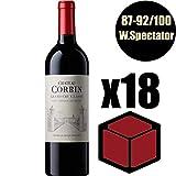 X18 Château Corbin 2014 37,5 cl AOC Saint-Emilion Grand Cru Classé Rouge Rotwein