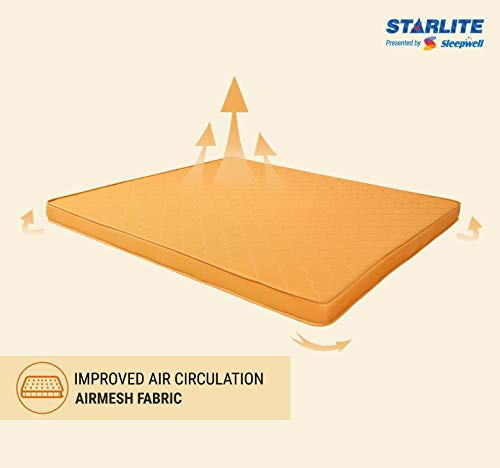 Sleepwell Starlite Select Extra Firm Coir Mattress (75x60x4) Image 2