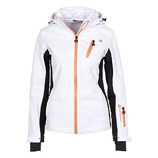 Peak Mountain - Softshell jacket women ARIBA-white-XL