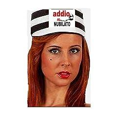 Idea Regalo - ADDIO AL NUBILATO cappellino da carcerato ADDIO AL NUBILATO made in italy
