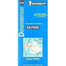Carte routière : Savoie, 4073, 1/150000