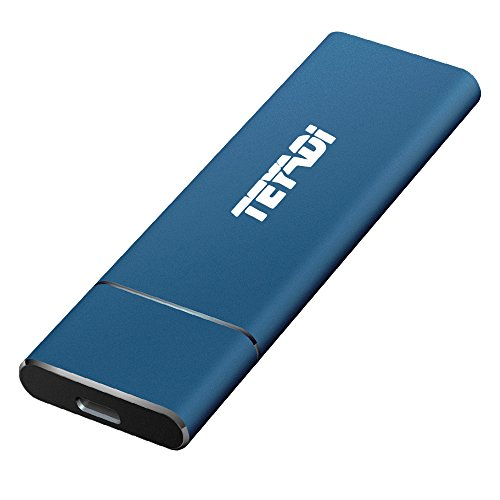 Teyadi Externe SSD 128Go, SSD Portable, USB 3.1Gen 2, SSD M.2, Vitesse de Lecture/écriture Ultra-Rapide, pour, DE Stockage Externe, Bureau, MacBook, Tablette, téléphones Android