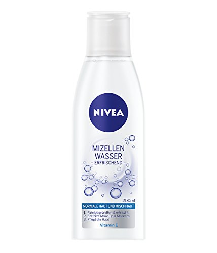 Nivea 3 in 1 Mizellen Gesichtswasser für Normale Haut, 4er Pack (4 x 200 ml)