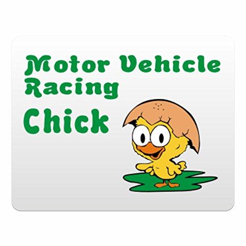 Eddany Motor Vehicle Racing chick - Plastic Acrylic (Horizontale Motoren Racing)