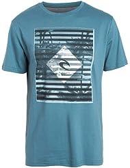 Rip Curl Herren Blur Lines Ss Tee Kurzärmeliges T-Shirt