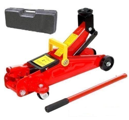 Cric de Chariot Hydraulique 2 Tonne / Jack Voiture Leve 2 Tonnes & Etui de Transport / Stockage