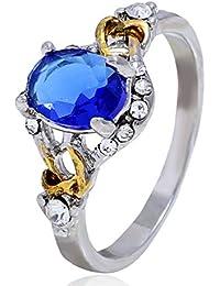D&D-Joyería Anillos Bisutería De aro rígido De Sello Juego de Anillos Midi Solitarios Anillo de Diamantes