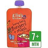 Cuisine Bang Bang De Bangers & Mash De Ella Avec Légumes 130G - Paquet de 2