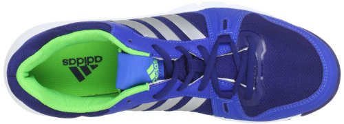 adidas a.t. 120, Chaussures de gymnastique homme Bleu - Blau (Night Blue F13 / Metallic Silver / Ray Green F13)