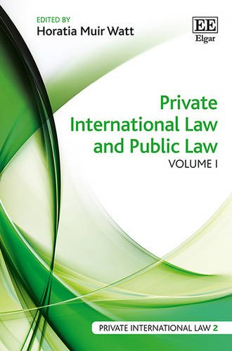 Private International Law and Public Law (Private International Law Series)