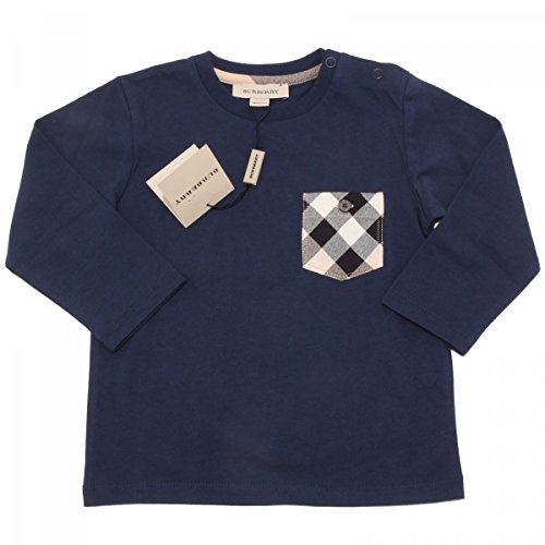 burberry-t-shirt-manches-longues-bleu-fonce-3-anni-blu-scuro