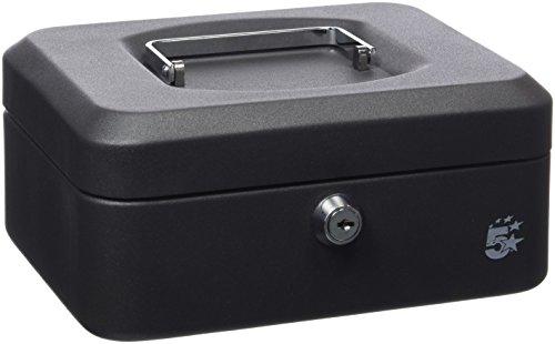 5-star-918885-caja-de-caudales-de-acero-20-cm-color-negro