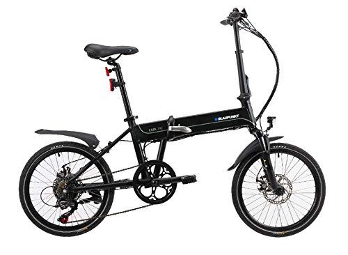 BLAUPUNKT Carl 290   20 Zoll faltbares Pedelec, E-Bike, Elektrofahrrad - 19 kg, 250 Watt 250 Audio