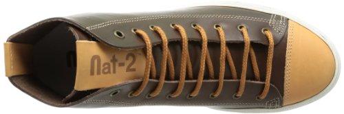 Nat-2 Brave Hi Herren Sneaker Braun (marrone Blu)