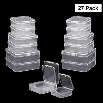 12 X New Atc Klar Aufbewahrungsbox Kunststoff Box Playing