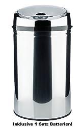 INKLUSIVE BATTERIEN! Sensor Abfalleimer 20-30 L mit Batterien, Mülleimer, Abfallbehälter, Automatik