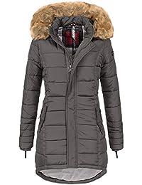 0227db205af7 Navahoo Papaya Damen Winter Jacke Steppjacke Mantel Parka gesteppt warm B374