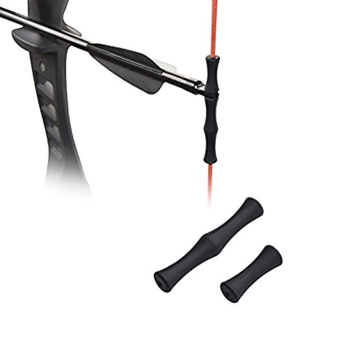 Bogenschießen Ziel Schleife Finger Guard Tippen Saver für Outdoor Shooting ()