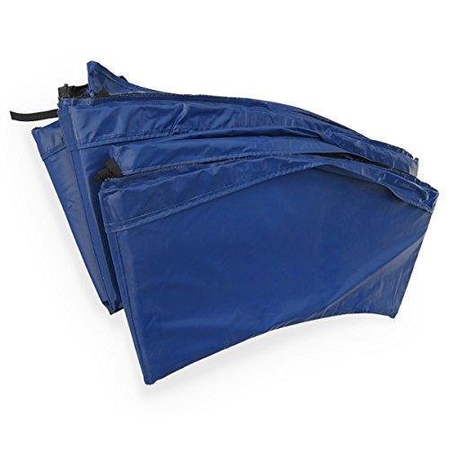 Alice's Garden - Coussin de protection ressorts trampoline 400cm - 22mm - Bleu