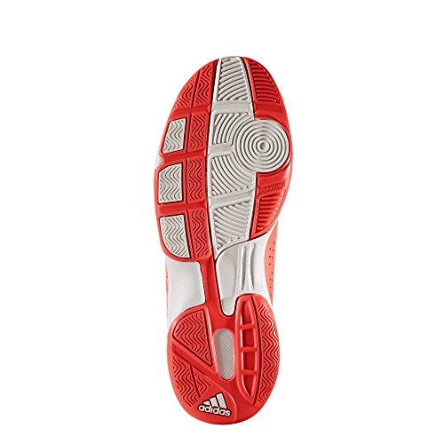 adidas Jungen Essence Handballschuhe Rot (Solar Red/Footwear White/Core Black)