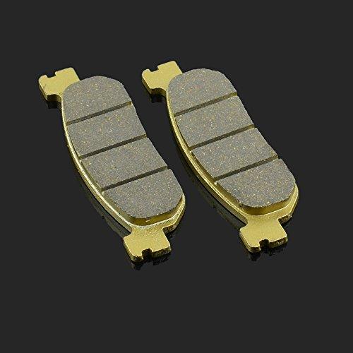 Fast Pro 99.77 X 30,2 x 9 mm 1 paire Plaquettes de frein avant et arrière pour Yamaha RZ 50 TW 200 XT 250 05-08 YZF 600 R R6 99-02 YZF 1000 R1 02-03