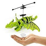 Fliegender Drache - Dinosaurier - Flugsaurier Hubschrauber,Neuheit 2018!Einfach zu Steuern per Handbewegung!Ein super Geschenk zur Weihnachten für alle!-Helicopter,Dragon,Dinosaurier,Mini Drohne,