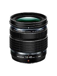 M.Zuiko DIGITAL ED 12-45mm F4.0 PRO Objektiv, Standard Zoom, Passend für alle MFT Kameras (Olympus OM-D & Pen Modelle, Panasonic G-Serie), Schwarz