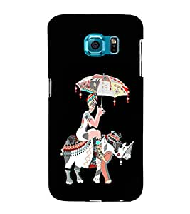EPICCASE rhinoceros case Mobile Back Case Cover For Samsung Galaxy S6 Edge Plus (Designer Case)