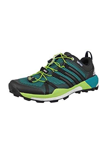 adidas Terrex Boost, Chaussures de Randonnée Basses Homme Vert