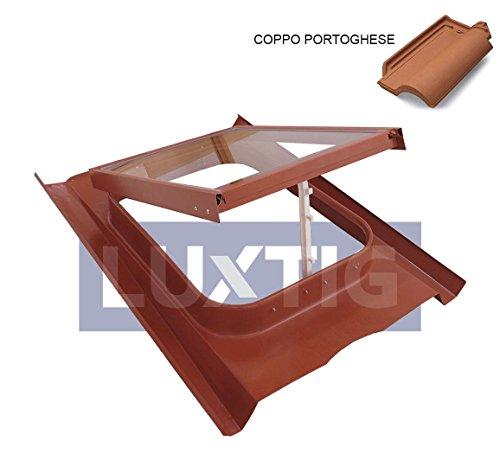 Lucernario/Finestra da tetto Modello 45X60 Vetro Temperato Luxtig